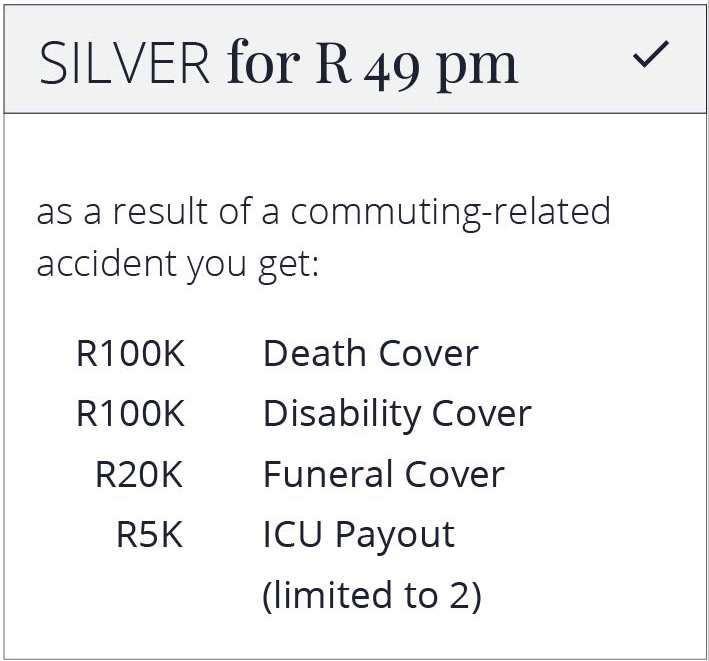 Silver for R49pm